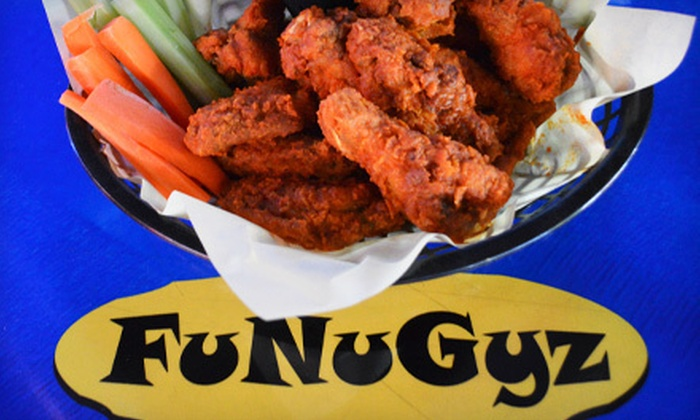 FuNuGyz Sports Grill - Marketplace At Thunderbird: Pub Food at FuNuGyz Sports Grill (Up to 51% Off). Two Options Available.
