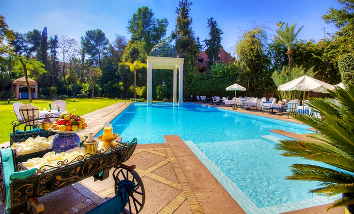 Marrakech: Up to 14 Nights for 2 Adults and 2 Children with Breakfast and Hammam Access at 4* Hotel Marrakech le Tichka