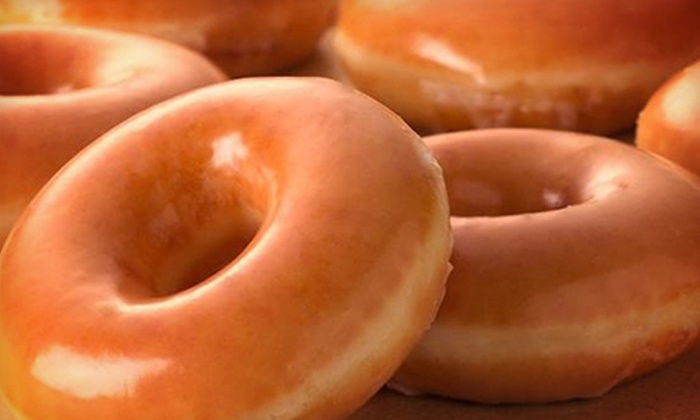 Krispy Kreme - Multiple Locations: $8 for Two Dozen Original Glazed Doughnuts at Krispy Kreme ($16 Value)