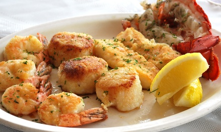 American Cuisine at Red Mill Supper Club (40% Off). Four Options Available.