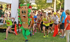 Trick or Trot 5K / 10K Family Fun Run: $24 for Race Registration for One to the Trick or Trot Family Fun Run on October 24 ($35 Value)