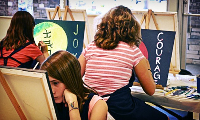 Objet d'Art Gallery & Studios - Peachtree Corners: BYOB Painting Class for One or Two at Objet d'Art Gallery & Studios (Up to 57% Off)