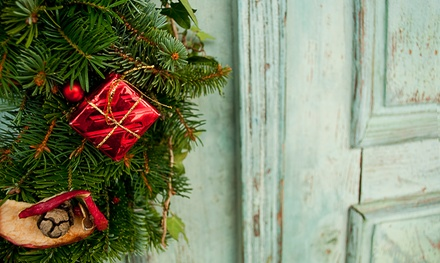 $21 for a Classic 24-Inch Christmas Wreath at Van Houten Farm ($35 Value)