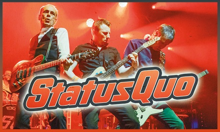 Status Quo - PLUGGED IN - Live and Rockin! on 26 November - 8 December at Nine Locations (Up to 50% Off)