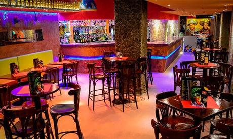 Menú mexicano para 2 personas con entrante, principal, postre y bebida desde 22,95 € en Paseo de la Castellana