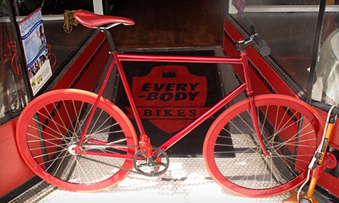 Everybody Bikes - Inner Sunset: Standard Tune-Up or $35 for $70 Worth of Services and Classes, or Deluxe or The Works Tune-Up at Everybody Bikes