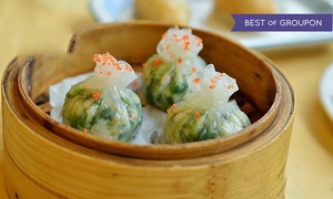 Dim Sum Factory: $12 for Three Groupons, Each Good for $10 Worth of Dim Sum and Pan-Asian Cuisine at Dim Sum Factory ($30 Value)