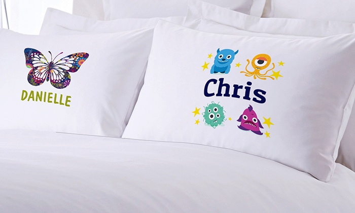 Custom Pillow Cases for Kids Bedding (83% Off)