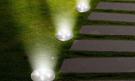 Outdoor Solar LED Pathway Landscape Lights (4-Pack)
