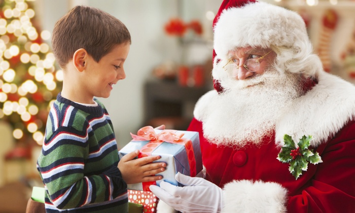 Santa Experience, Gift per Child, Train Ride, 1hr Soft play, Two Carousel Rides and More, 1-21 December, (Up to 39% Off)