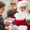 Santa Experience with a Gift