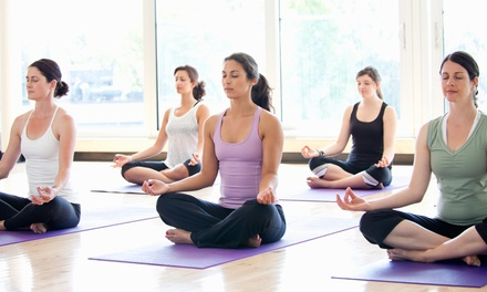 Up to 70% Off Unlimited Yoga for One & Two at Yarmouth Yoga Studio