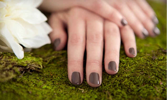 Le Salon Nowel - Astoria: One or Two Regular Mani-Pedis or One Shellac Manicure and Regular Pedicure at Le Salon Nowel (Up to 56% Off)