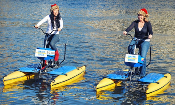 Austin Water Bikes - Hyatt Regency Austin: One-Hour Water-Bike Rental for One or Two from Austin Water Bikes (Up to 55% Off)