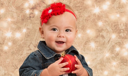 Holiday Photos: 4 Portrait Sheets & Optional Digital Image from Picture People (85% Off)