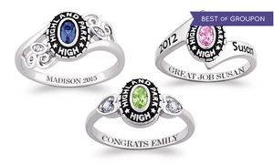 67% Off Personalized Women's Class Ring at Limogés Jewelry at Limogès Jewelry, plus 9.0% Cash Back from Ebates.