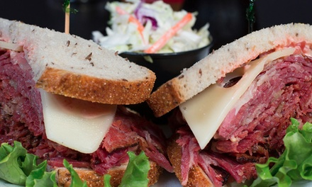 Two or Four $10 Groupons for Deli Sandwiches, Salads, Soups, and Sweets at Nosh Delicatessen 45% Off)
