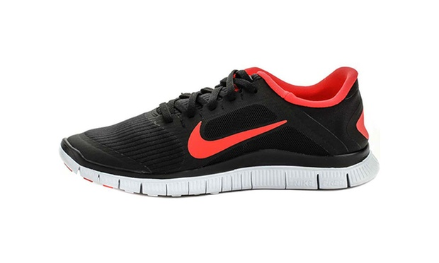 nike free 5.0+ black grey white nursery