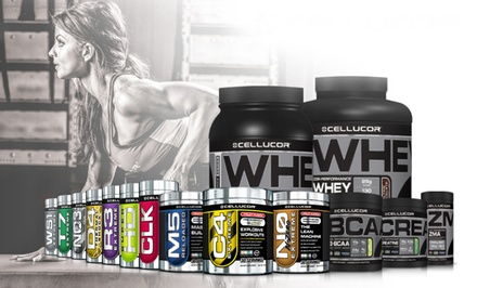 $24.99 for $50 Worth of Cellucor Fitness Supplements