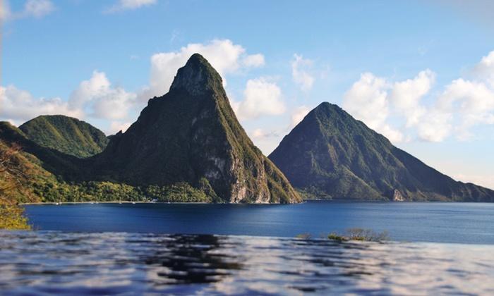 Luxurious St Lucia Resort Amid Stunning Scenery