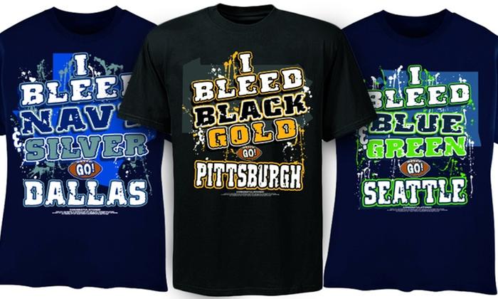 Encore Select I Bleed Football T-shirts