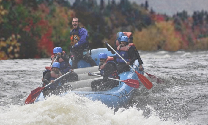 Magic Falls Rafting Company - West Forks: $81 for $159 Worth of Dead River Rafting — Magic Falls Rafting Company