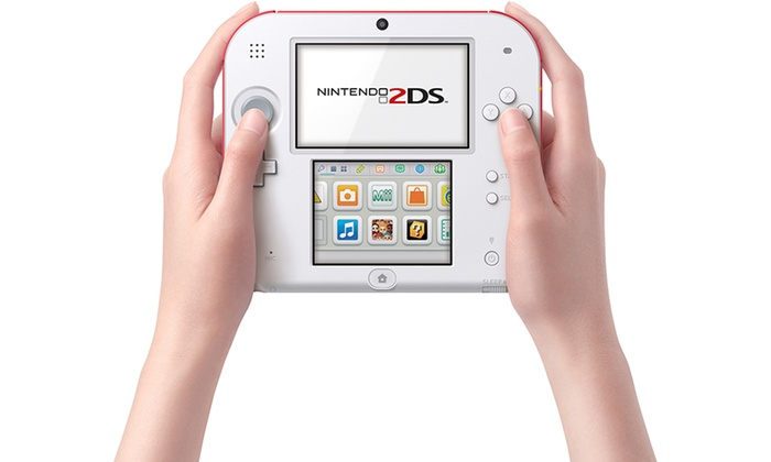 Nintendo 2ds Gaming System And New Super Mario Bros 2 Groupon