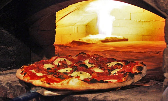 Rock 'N Coal Pizzeria - East Woonsocket: $25 for $40 Worth of Coal-Fired Pizza at Rock N' Coal Pizza