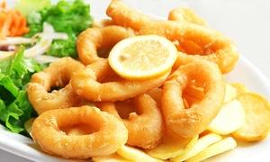 Ristorante Parco Lissi: Menu di pesce con dolce e calice di vino per 2 o 4 persone al Ristorante Parco Lissi (sconto fino a 65%)