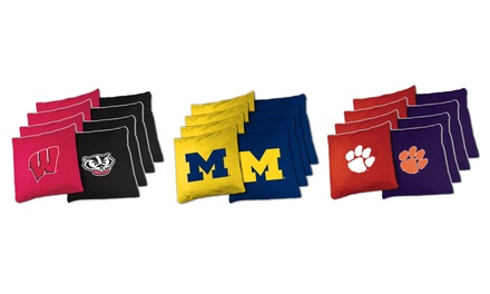 NCAA 8-Piece Extra-Large Bean Bag Set