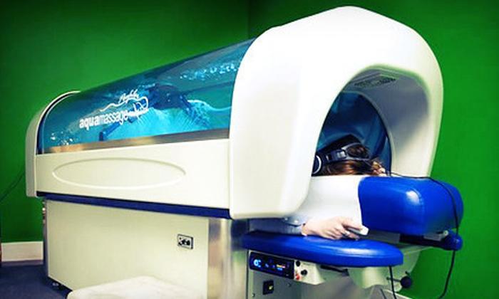 Calgary Aqua Massage - Marlborough: Four or Five Aqua Massages at Calgary Aqua Massage (Up to 77% Off)