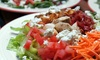 Island Salad - Multiple Locations: Create Your Own Salad Bar and Burritos at Island Salad (Up to 50% Off). Two Options Available.