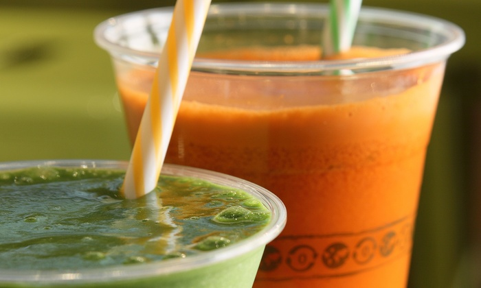 Malamiah Juice Bar - Malamiah Juice Bar: $6 for Two Groupons, Each Good for $5 Worth of Juice at Malamiah Juice Bar ($10 Total Value)