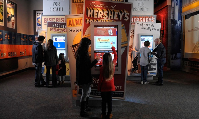 The Hershey Story, The Museum on Chocolate Avenue - Hershey: Visit with Chocolate Tasting for Two or Four at The Hershey Story, The Museum on Chocolate Avenue (52% Off)