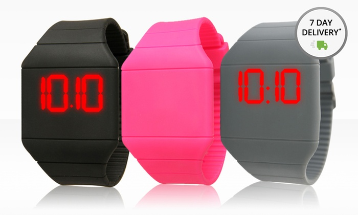 Digital Touchscreen LED Watches: Digital Touchscreen LED Watches. Multiple Colors Available. Free Returns.