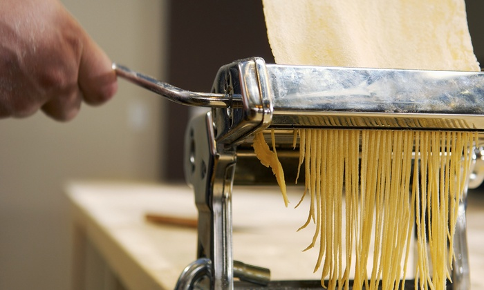 Pasta Rolling Class and Family Style Dinner - Russet: Hand-Roll Savory Pasta and Feast with Russet's Head Chef