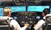 Aéropyrénées - Aéropyrénées: 15 ou 20 minutes en simulateur avec 20 ou 30 minutes de vol en double commande dès 75 € chez Aéropyrénées Flight Center