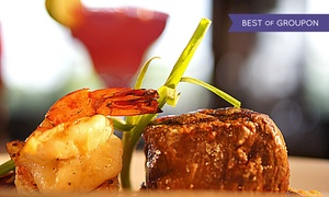 The Prickly Pear: Modern Mexican Dinner for Two or Four with Appetizer and Drinks at The Prickly Pear (Up to 46% Off)