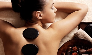 Anew Day Spa: 75-Minute Hot-Stone Massage with Chocolate and Fresh Fruit for One or Two at Anew Day Spa (Up to 57% Off)