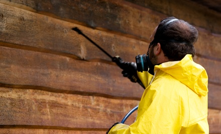 Pressure-Washing Services or Interior and Exterior Window Cleaning from Anderson Janitorial (Up to 61% Off)