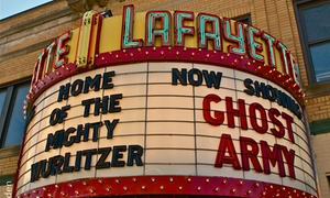 Lafayette Theatre: Movie Package for One, Two, or Four at Lafayette Theatre (Up to 36% Off)