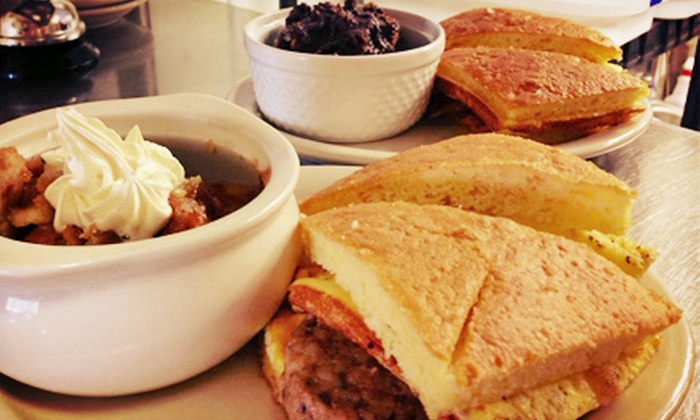 Kitt's Kornbread Sandwich & Pie Bar - North Central Carrollton: $10 for $20 Worth of Sandwiches, Salads, and Desserts at Kitt's Kornbread, Sandwich, and Pie Bar
