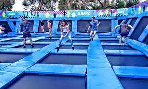 Jumpz Trampoline Park - Anglesea: Trampoline Park Entry - $8 for One Hour or $12 for One Day at Jumpz Trampoline Park, Anglesea (Up to $25 Value)