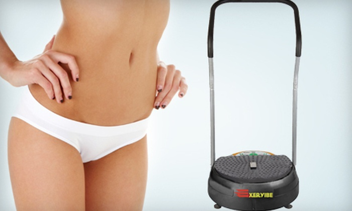Spice Wellness: $399 for Exervibe Portable Body-Vibration Machine Plus Free Shipping from Exervibe ($1,299 Value)
