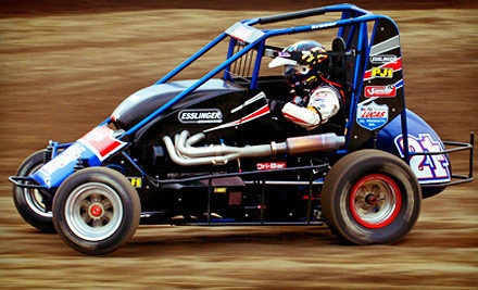 15 or 25 Laps of Racing with Instruction at Cory Kruseman's Sprint Car and Midget Driving School (Half Off)