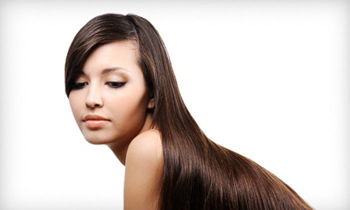 New York Looks Salon & Spa - Hunters Point: Keratin Hair-Straightening with or Without Haircut at New York Looks Salon & Spa in Long Island City (Up to 70% Off)