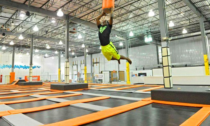 Flight Trampoline Park - Collier: $18 for a One-Hour Jump for Two, Valid Monday-Thursday at Flight Trampoline Park ($28 Value)
