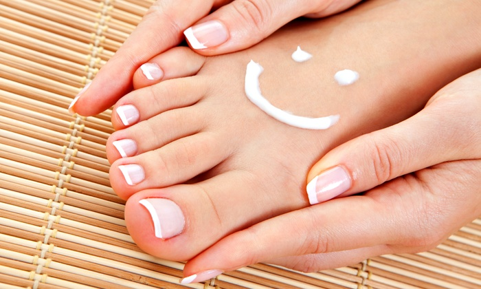 Nails Naturally - Spicewood Business Center: Mani-Pedi at Nails Naturally (Up to 53% Off). Two Options Available.