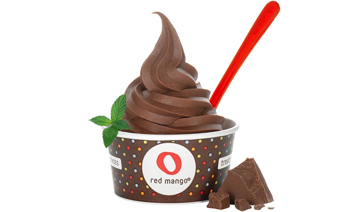 Red Mango and Nestlé Toll House Café  - Five Towns: Baked Goods and Frozen Treats at Red Mango and Nestlé Toll House Café (Up to 53% Off). Three Options Available.
