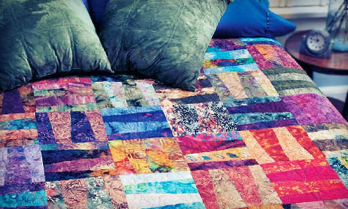 QuiltClassroom.com: 3, 6, or 12 Online Quilting Classes from QuiltClassroom.com (Up to 58% Off)